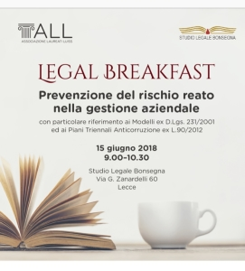 LEGAL BREAKFAST LUISS